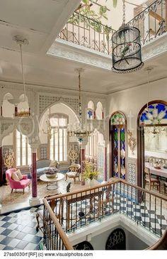 Kaunis marokkolainen tyyli rivitalo