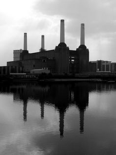 Battersea Power Station. I spent the day on the roof.  I love when life is surprising, bonkers and wonderful