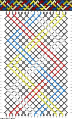 20 strings, 5 colors, 32 rows