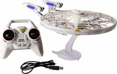 Air Hogs - Star Trek™ U.S.S. Enterprise NCC-1701-A Remote Controlled Helicopter - Gray - Front_Zoom