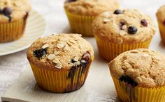 Blueberry Whole Wheat Muffins Recipe by Food Network Kitchens