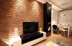 Гостиная с нотками стиля лофт - кирпичная кладка как акцент. #loft #лофт #кирпичнаястена #лофтинтерьер vk.cc/6qfEHh