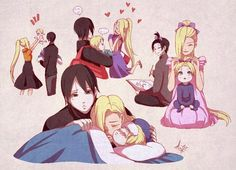 Ino,Sai and Inojin *.*
