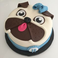 If you would like to be an expert at cake decorating, then you'll require practice and training. As soon as you've mastered cake decorating, you might become famous from the cake manufacturing business. Pug Cake, Bulldog Cake, Cupcakes, Cupcake Cakes, Creative Cake Decorating, Creative Cakes, Baby Cakes, Sweet Cakes, Pug Birthday Cake