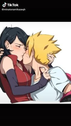 boruto e sarada beijo amv [Vídeo] | Naruto uzumaki shippuden, Naruto uzumaki, Animes boruto
