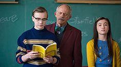 """Tim-Tim"", Professor Hargraves, and Madeline"