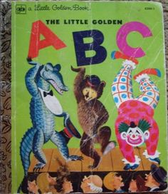 The Little Golden ABC - Little Golden Book...i'm using the prints out of this book to create wall art for the nursery!  so excited