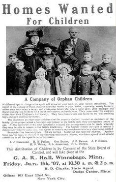 Orphan Train Riders stopped in Jamestown, North Dakota no