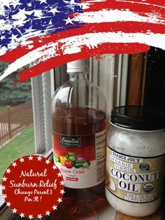 Redder, White & Blue: Sunburn relief and July 4 fun from Pinterest
