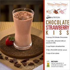 310 shake chocolate strawberry bliss