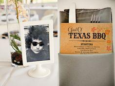 cadre ikea avec photo pochette album rock/nom de table