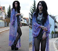 18cee4c13f9c4b Tessa Diamondly - Spell Designs Boho Blossom Maxi Kimono