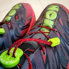 """""""#トレラン #ラン二ング#登山  #ホカオネオネ#スピードゴート   #ネイサン#ロックレース    #trailrunning #running #trekking   #hokaoneone #speedgoat #nathan   #Dyneema #locklaces"""" #Global #WinNeverTie #WhatsYourFit"""