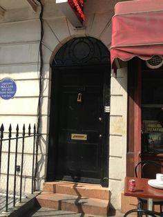 Door used in Sherlock TV series