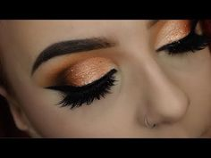 NIGHT OUT GLAM OMBRE CUT CREASE TUTORIAL | URBAN DECAY HEAVY METAL PALETTE - YouTube