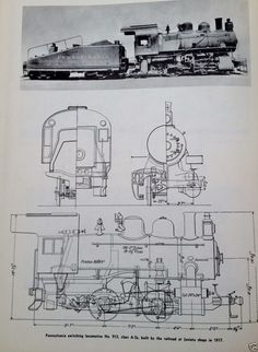 steam locomotive diagram illustration schematic pennsylvania switching no  913