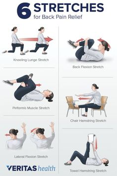 Back Pain Relief: Stretching to Relieve Back Pain # back pain relief remedies Stretching for Back Pain Relief Upper Back Exercises, Back Stretches For Pain, Muscle Stretches, Relieve Back Pain, Exercise For Back Pain, Easy Stretches, Mid Back Pain, Upper Back Pain, Neck And Back Pain