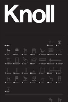 knoll by M. Vignelli #typo #graphic #design