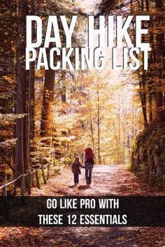 Make the best of your hiking trip with this day hike packing list vitchelo.com/...