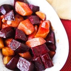 beets and sweet potatoes