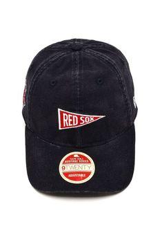 Boné New Era Strapback 920 Boston Red Sox MLB Preto - Marca New Era 76822f08b7ca1