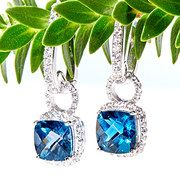 Take a look at the Glow in London Blue Topaz
