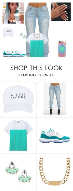 """""""💙💎"""" by kira101-101 ❤ liked on Polyvore featuring Nasaseasons, Maison Kitsuné, Retrò, House of Harlow 1960 and Casetify"""