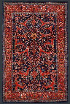 Persian Bidjar Oriental Rug #41421                                                                                                                                                                                 More