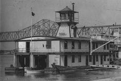 Coast Guard Life Saving Station, Louisville, Kentucky, 1930. :: Herald-Post Collection