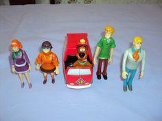 Brinquedo Antigo, Turma Do Scooby Doo. - R$ 90,00 no MercadoLivre
