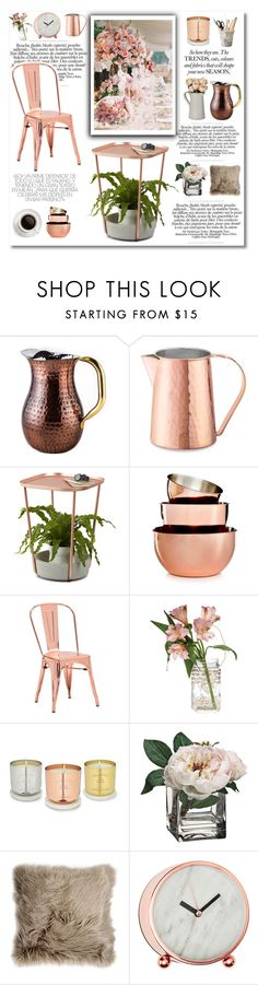 """""""Untitled #462"""" by zalarupar ❤ liked on Polyvore featuring interior, interiors, interior design, home, home decor, interior decorating, Old Dutch, Williams-Sonoma, Umbra and Martha Stewart"""