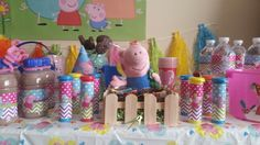 George and Peppa's muddy puddles Pig Party, Baileys, Peppa Pig, 3rd Birthday, Children, 3 Year Olds, Young Children, Boys, Kids