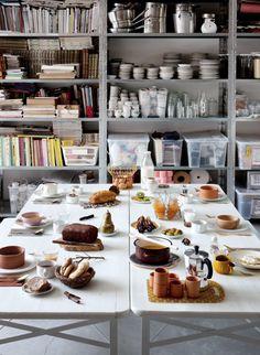 breakfast by arabeschi di latte for Grazia Casa (photo adriano brusaferri)