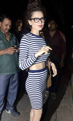 #Bollywood #KanganaRanaut at @deepikapadukone success bash for @PikuTheFilm