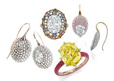 """""""Sotheby's Diamonds"""" collection, by James de Givenchy (Taffin), dealing with exceptional diamonds seems quite routine for the well-known auction house. With their access to exquisite gems and reputation for offering only the best in fine jewelry..."""