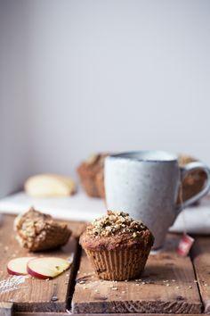 pumpkin apple muffins, (gluten/dairy free). | @andwhatelse