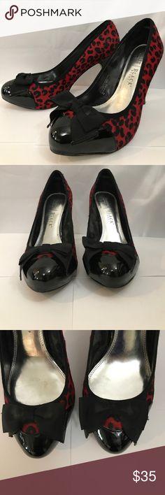 Spotted while shopping on Poshmark: White House Black Market Naomi red leopard heels! #poshmark #fashion #shopping #style #White House Black Market #Shoes