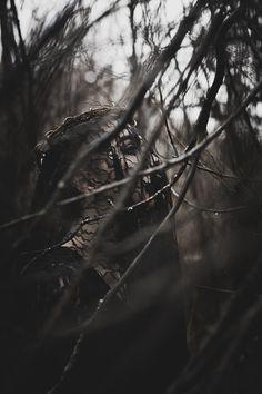 """Through the Cracks"" —  Photographer: Marianna Chambard Model: Evianne Chanel"