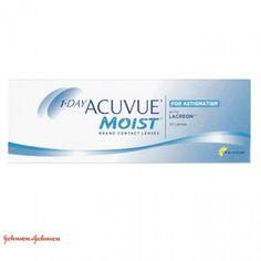 $25.90 1 Day Acuvue Moist Astigmatism - 30 Lentes - 25.90€