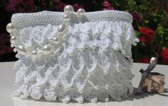 PINNED TO  PURE WHITE CROCHET