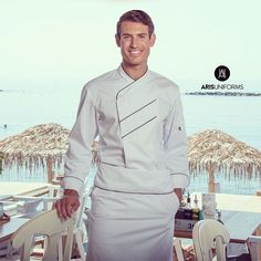 Chef by the Sea #chef #chefjacket #uniform #chefwhites #cheflife #cheflifestyle #cooks #work #worklife #AUchef #arisuniforms #workinstyle
