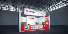Würth Industrie Service GmbH & Co. KG Konzeptentwurf zur BAUMA, München 51m²