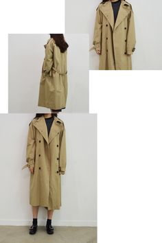 standard trench coat (2colors)