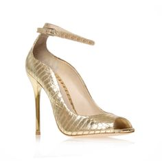 leida4, gold shoe by b brian atwood - women shoes occasion