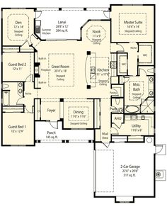 plan 33075zr private master retreat options