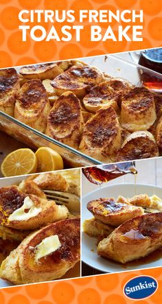 Serve up French toast with a twist this weekend! Meyer lemons and Minneola tangelos add a citrusy lift to this dish that you can prep the night before serving. Simply pop it in the oven in the morning for a delicious, stress-free breakfast.