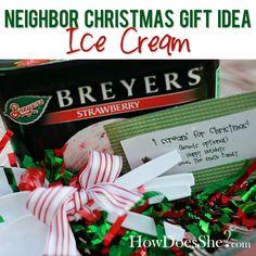 Neighbor Christmas Gift Idea | How Does She
