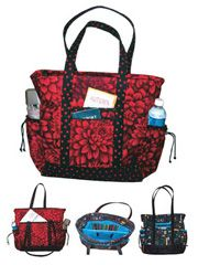 The Professional Tote has all the pockets and compartments needed for today's professional woman.   Item # 352907  Professional Tote Pattern  $9.98	    Possibly diaper bag idea?