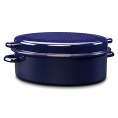 Riess Enamel Roasting Pan with lid