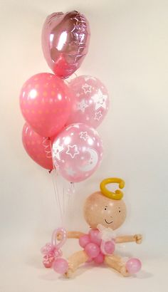 baby balloons, Sue Bowler, balloon art courses